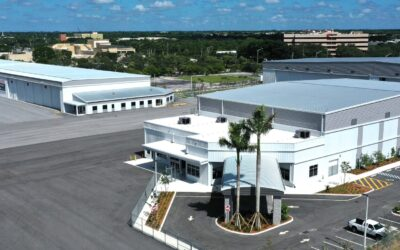 Sheltair's Northside Hangar Complex Supporting Business Aviation With Executive Hangar And Office Space