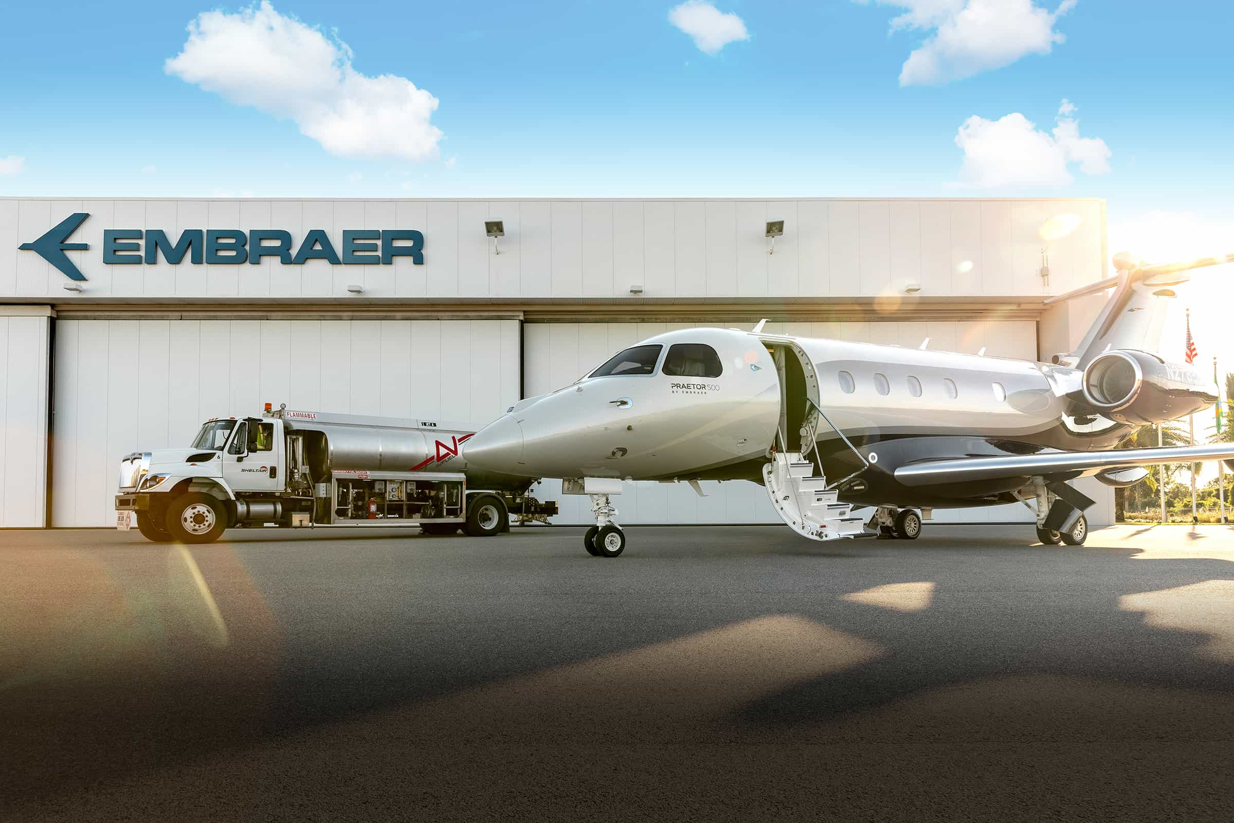 Avfuel and Embraer Collaborate to Bring Neste MY SAF to MLB Airport