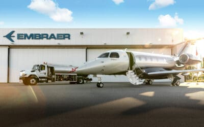 Sheltair Supports SAF Initiatives with Embraer and Avfuel Ahead of BACE